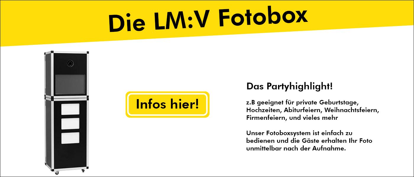 Die LM:V Fotobox