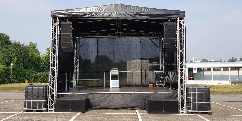 stationäre Bühne