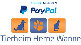 Spendenlink Tierhein Herne-Wanne