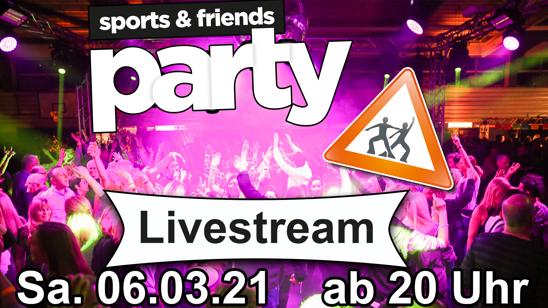 sporta and friends party logo